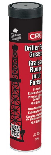 Driller Red Grease Extreme Pressure Lithium Complex Grease, 396