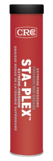 Sta-Plex™ Extreme Pressure Premium Red Grease, 397 Grams