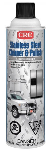 Stainless Steel Cleaner and Polish, 510 Grams