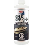 On & Off Gel Hull & Bottom Cleaner, 946 Milliliters